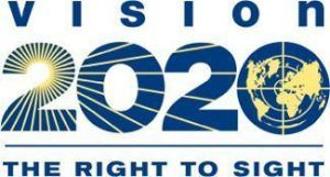 VISION 2020 The Right to Sight Logo