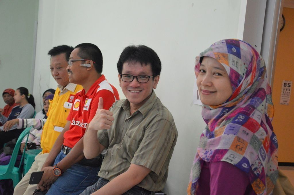 Dr. Wulan, Dr. Teguh, Dr. Irsan, Soewandi core team members of A New Vision