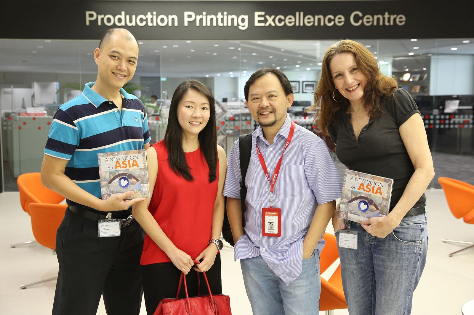 Irving Neil Kwok, Joey Ng, Eric Tan and Carolyn Strover